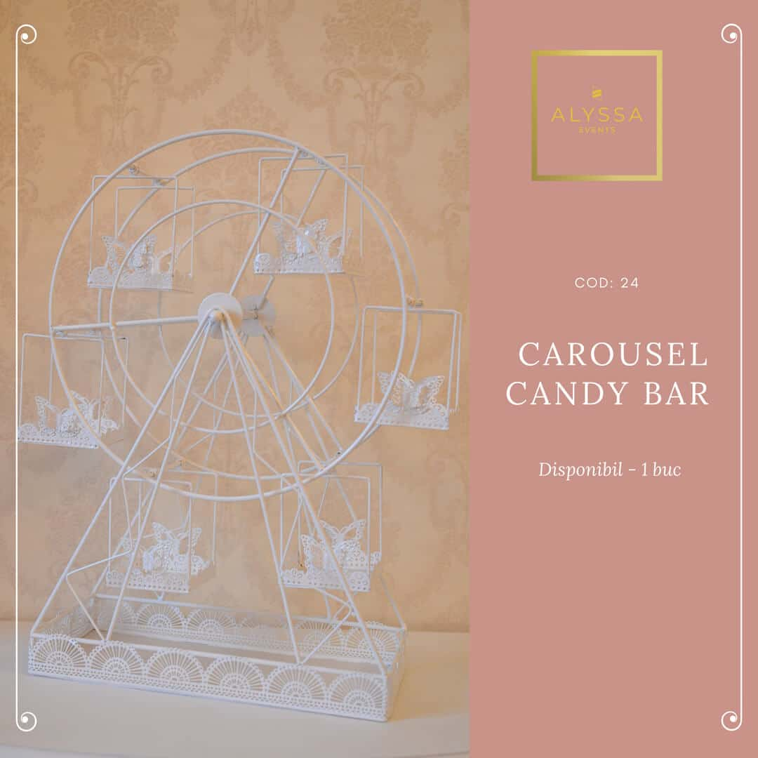 Carousel candy bar