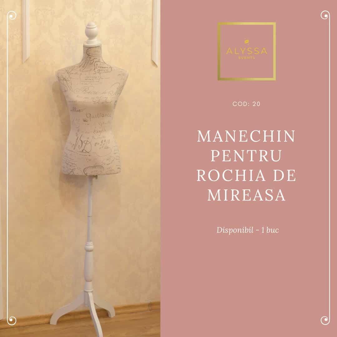Manechin pentru rochia de mireasa