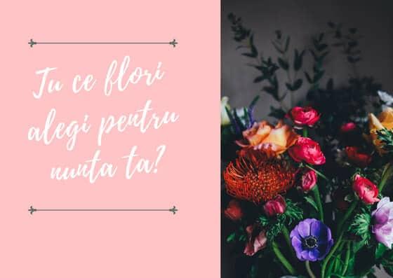 Aranjamente florale pentru nunta - Alyssa Events