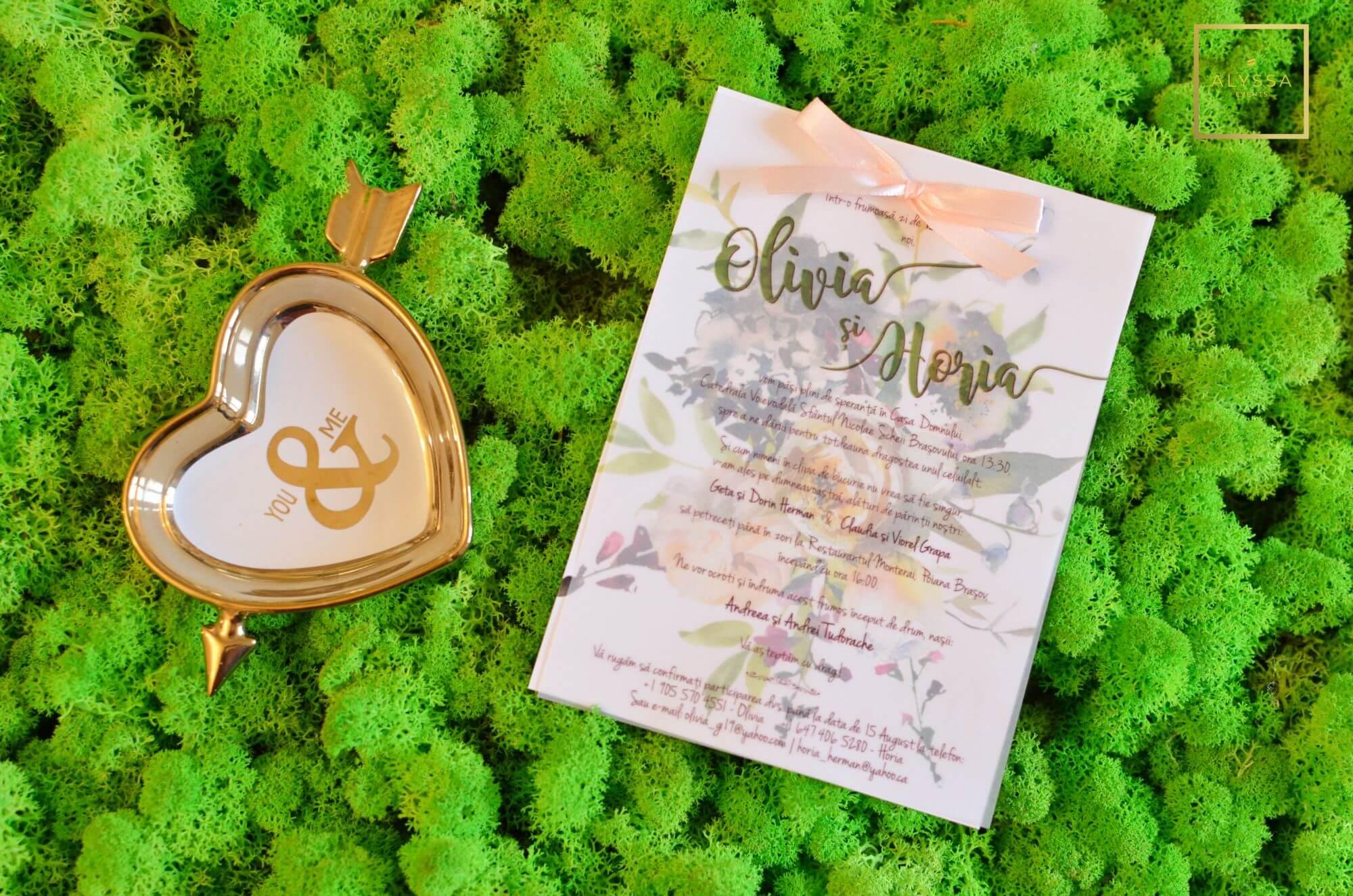 Invitatii Personalizate Alyssa Events Agentie Organizare