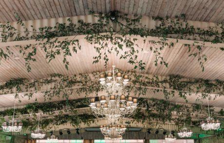 Decor sala Domeniul Dambu Morii Brasov