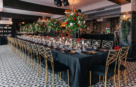 "Aranjament masa ""Long Table"" Adaggio Brasov"