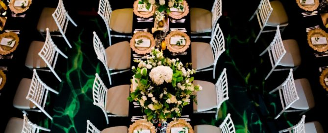 Decor sala nunta Greenery