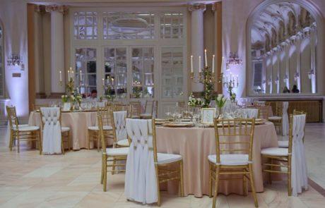 Decor nunta Cazino Sinaia