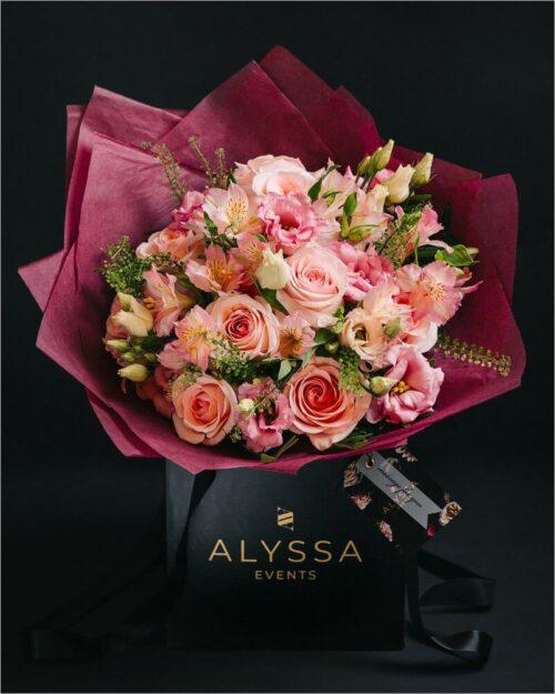 Pink Mood Bouquet - Aranjament Floral 1