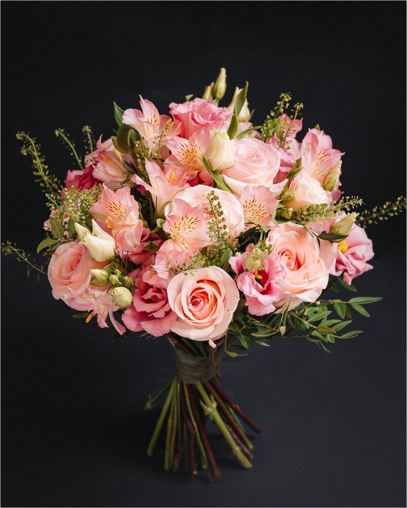 Pink Mood Bouquet - Aranjament Floral 2
