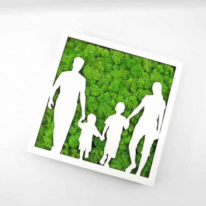 Tablou licheni - Family