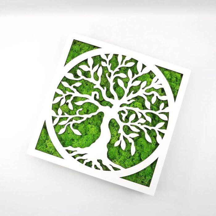 Tablou licheni - Tree of life 2